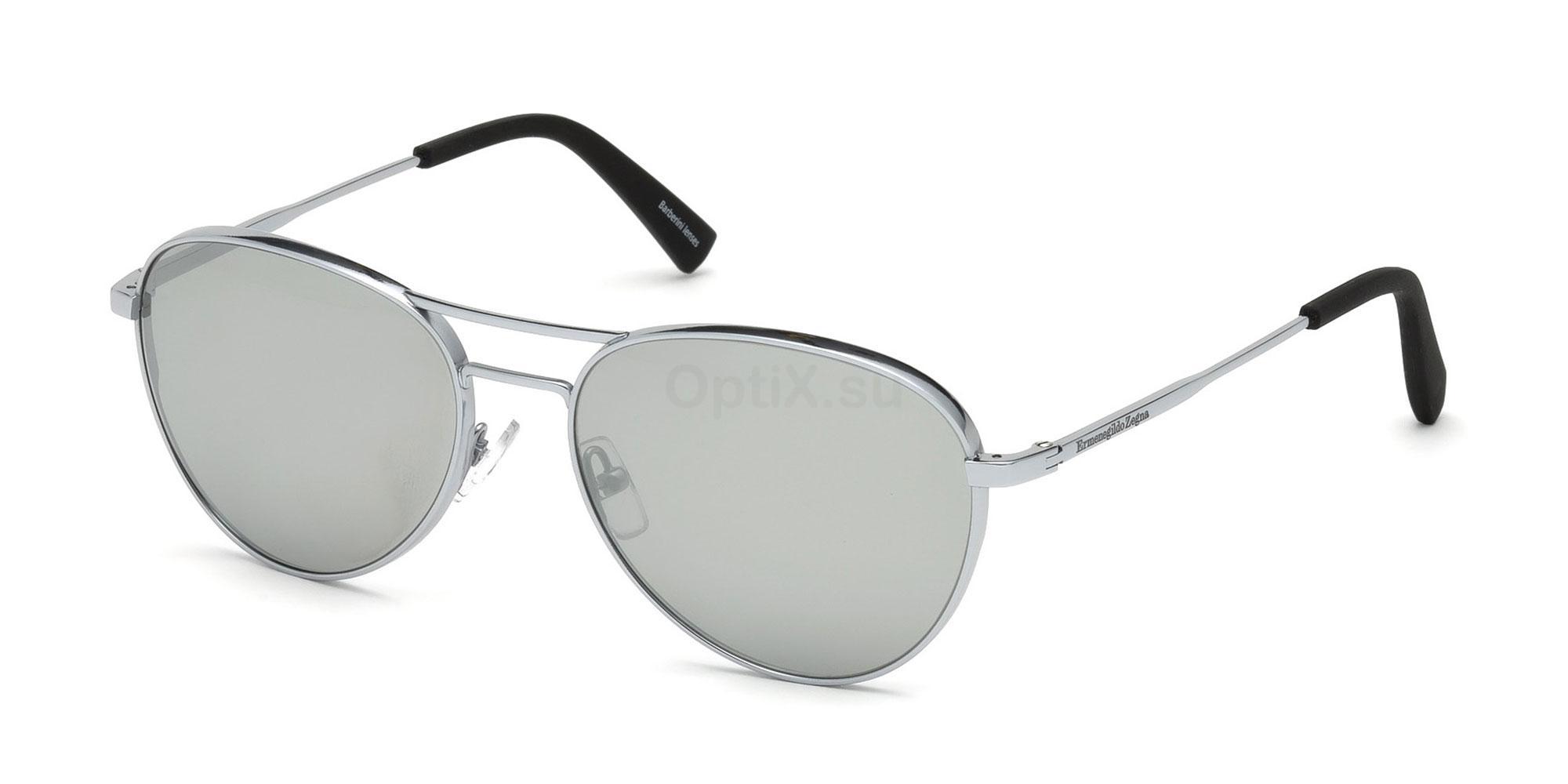 18C EZ0098 Sunglasses, Ermenegildo Zegna