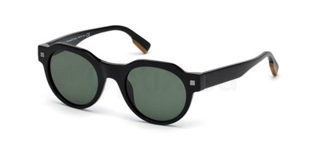 01N EZ0102 Sunglasses, Ermenegildo Zegna