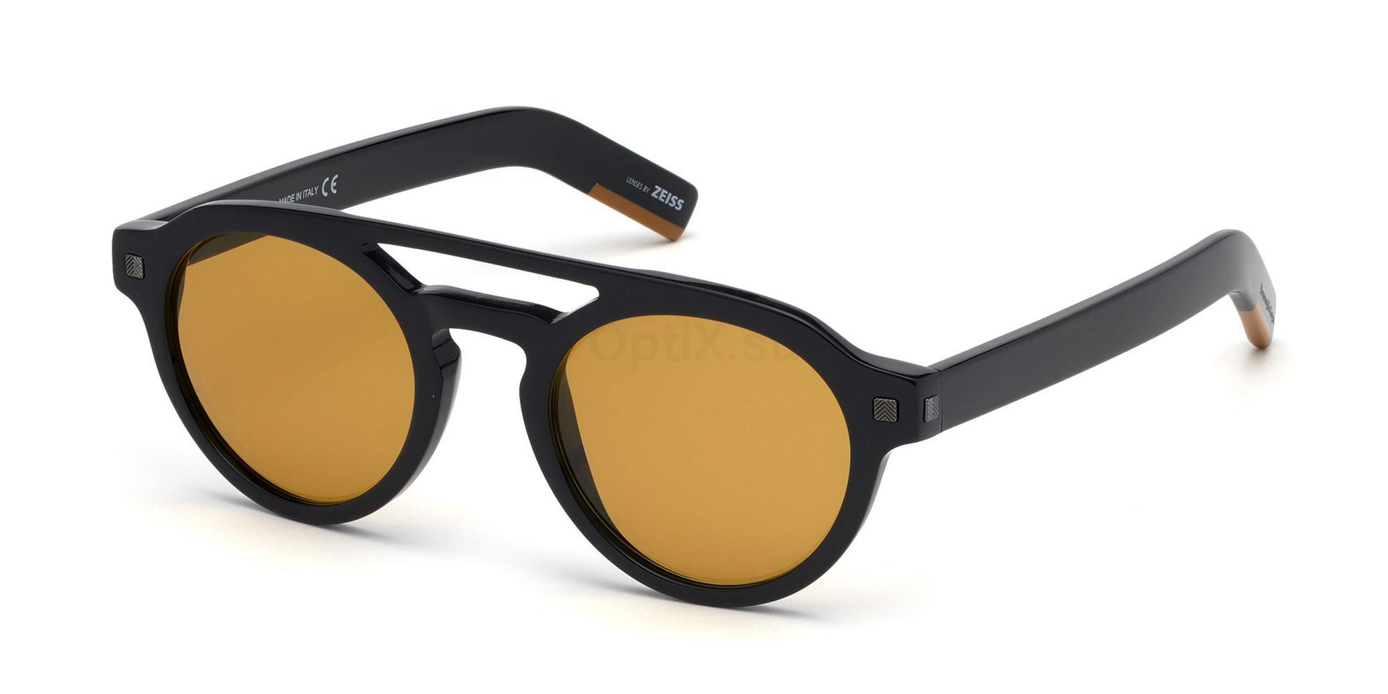 01E EZ0112 Sunglasses, Ermenegildo Zegna