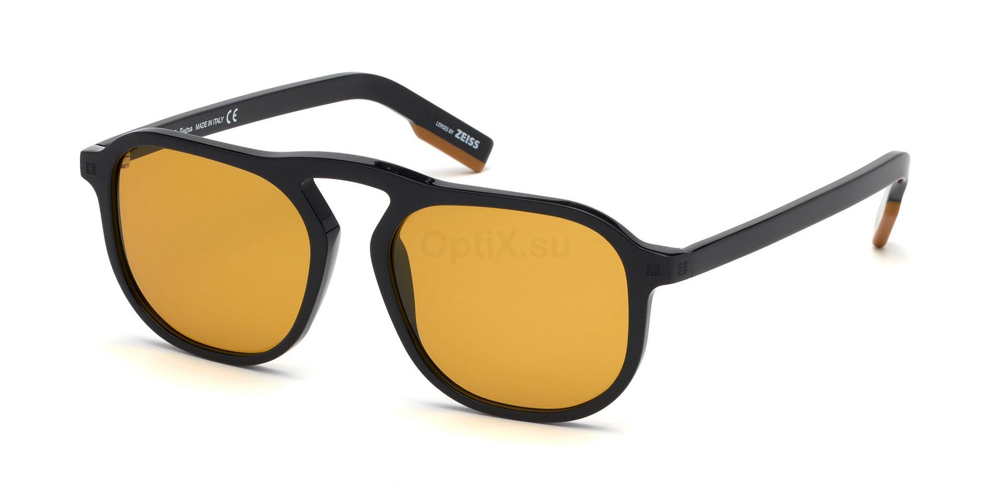 01E EZ0115 Sunglasses, Ermenegildo Zegna