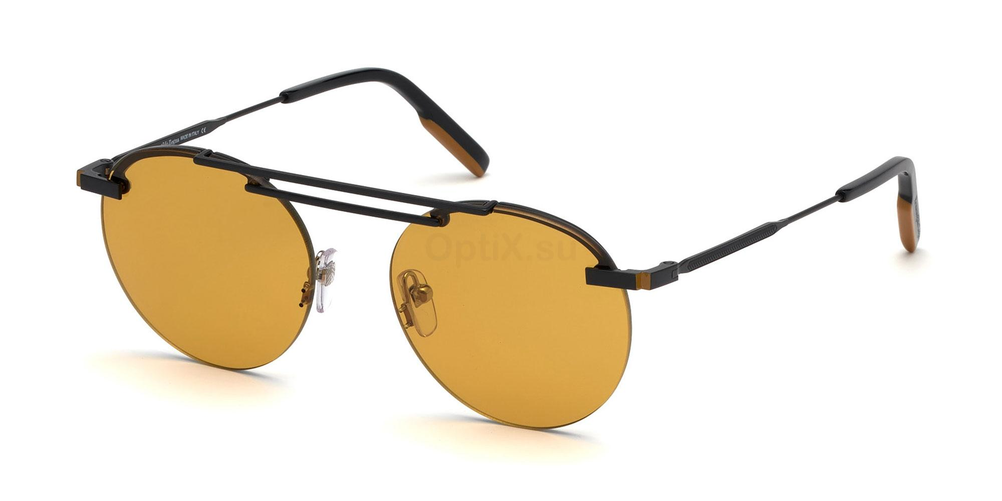 02E EZ0116 Sunglasses, Ermenegildo Zegna