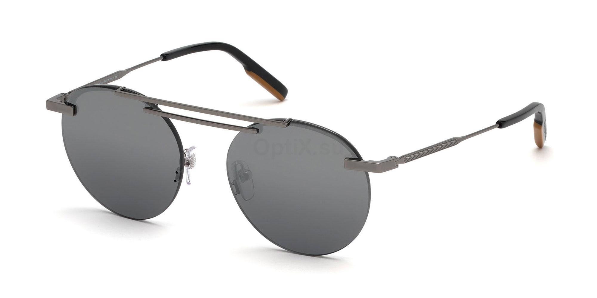 08C EZ0116 Sunglasses, Ermenegildo Zegna
