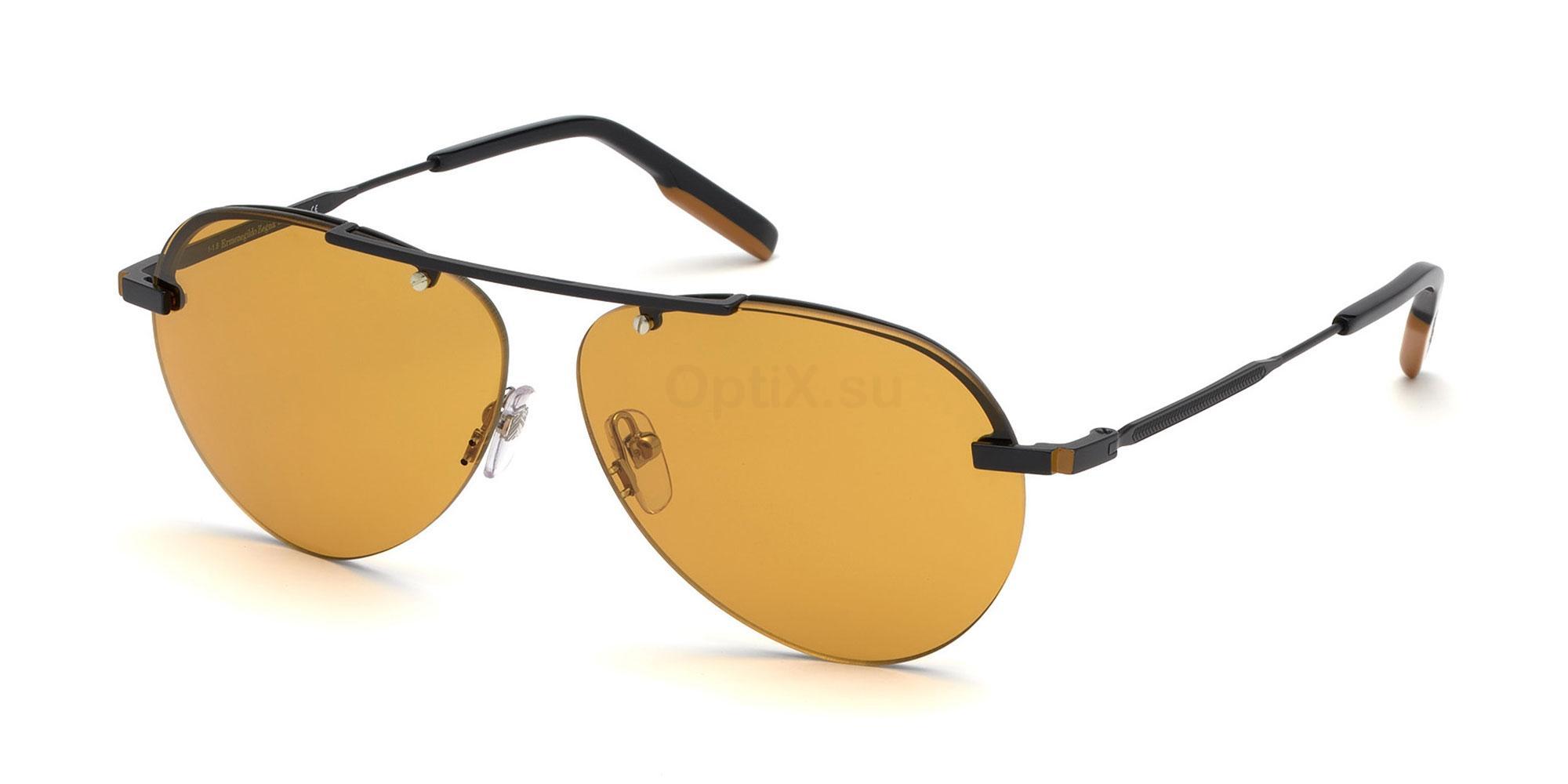 02E EZ0117 Sunglasses, Ermenegildo Zegna