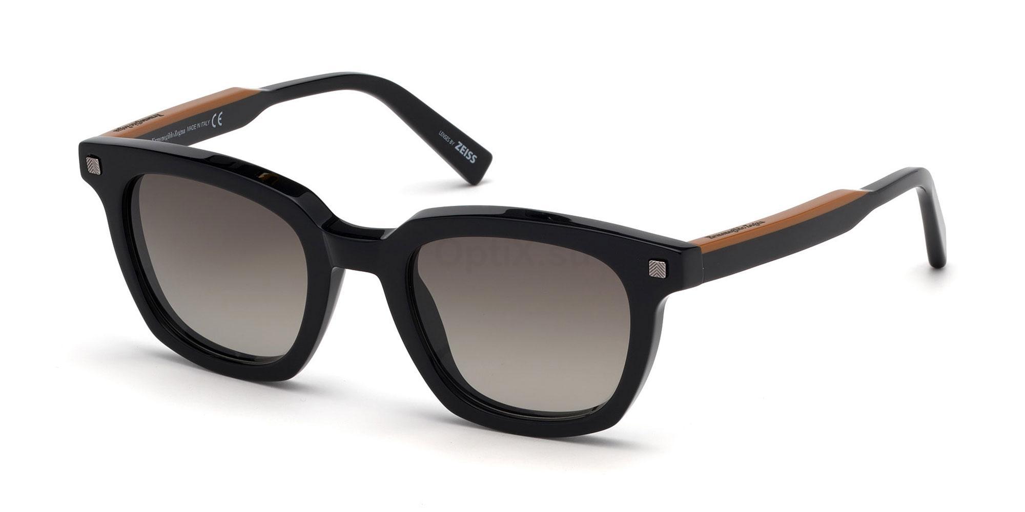01B EZ0118 Sunglasses, Ermenegildo Zegna