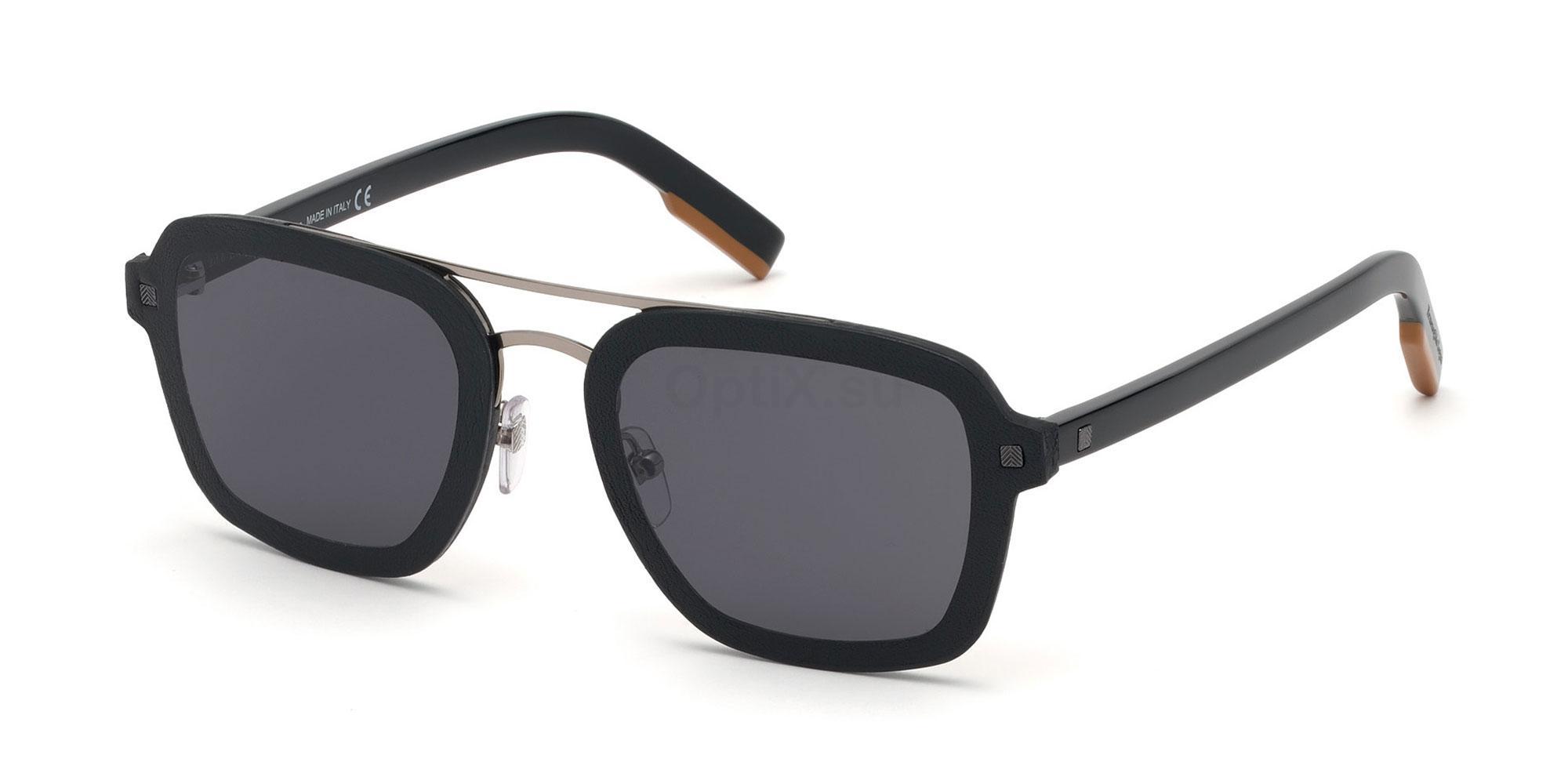 01A EZ0120 Sunglasses, Ermenegildo Zegna