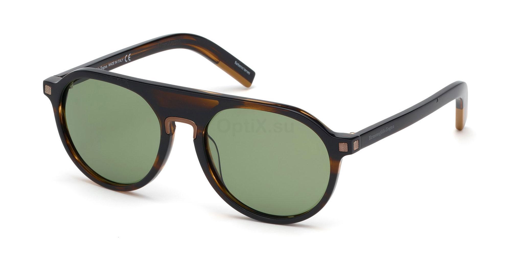 50N EZ0123 Sunglasses, Ermenegildo Zegna