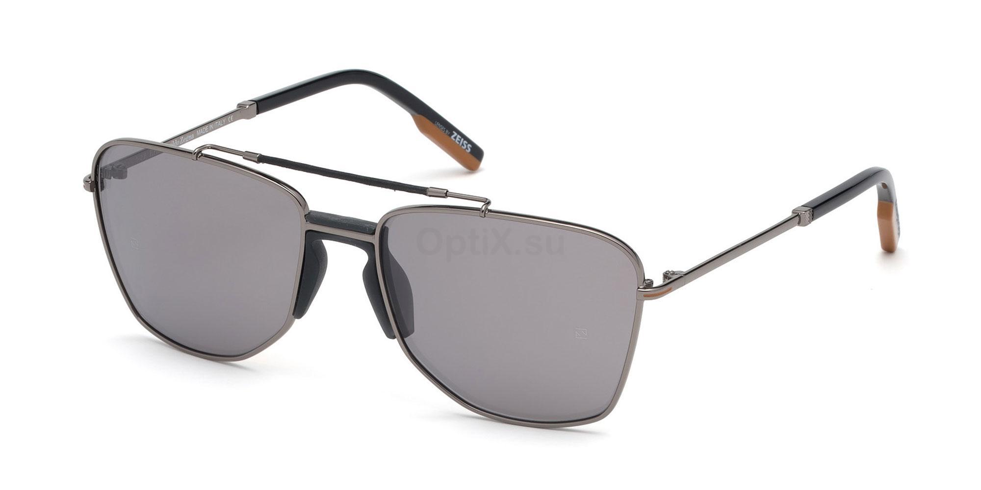 08N EZ0130 Sunglasses, Ermenegildo Zegna