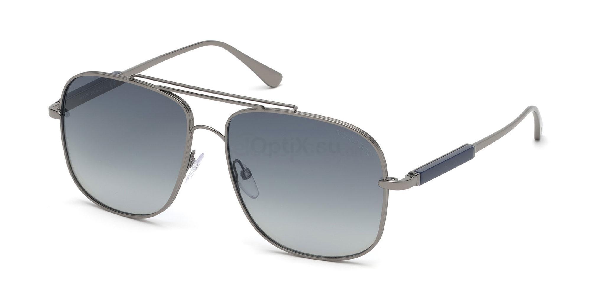 12W FT0669 Sunglasses, Tom Ford