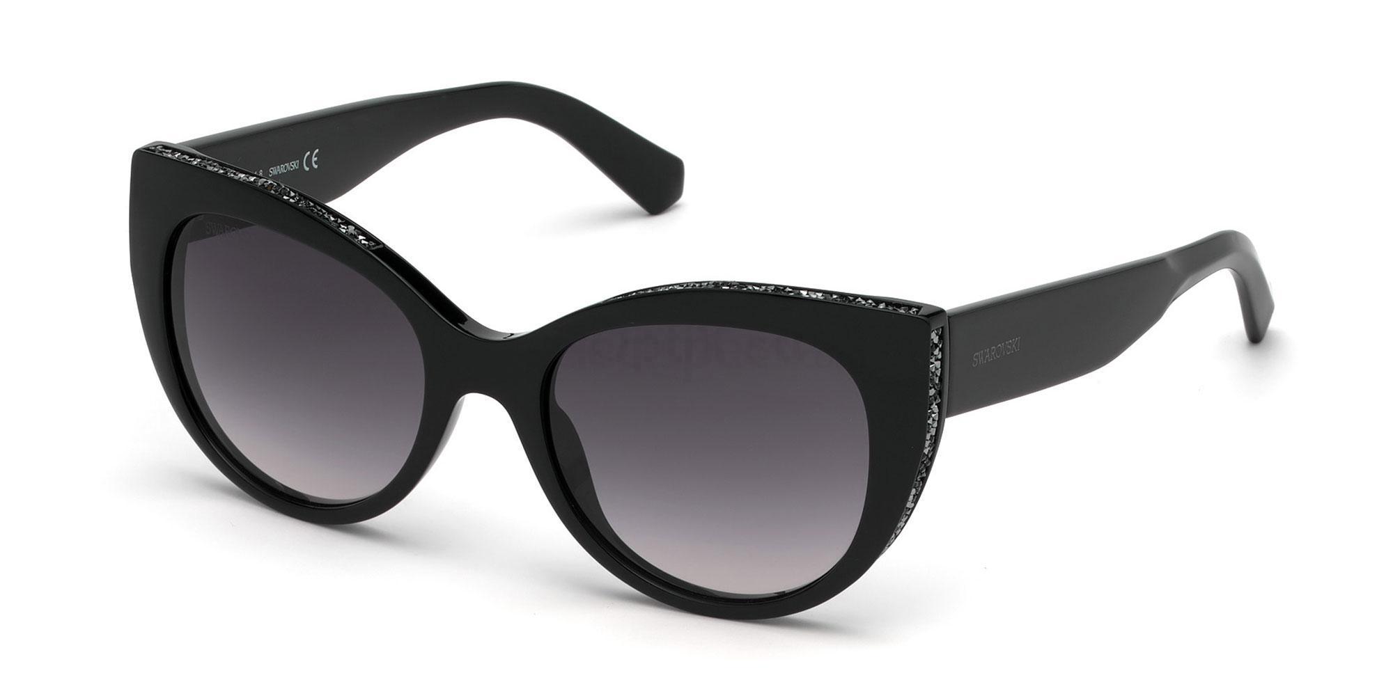 01B SK0202 Sunglasses, Swarovski