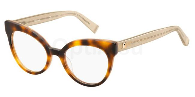 GXV MM 1285 Glasses, MaxMara Occhiali