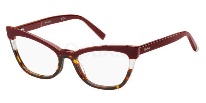 YDC MM 1327 Glasses, MaxMara Occhiali