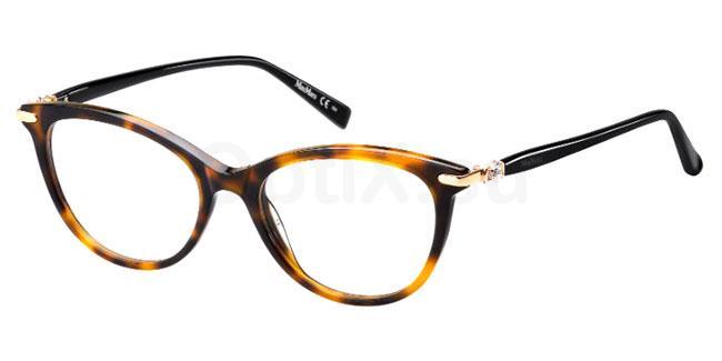 086 MM 1366 Glasses, MaxMara Occhiali