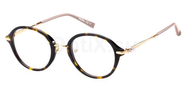 086 MM 1376/F Glasses, MaxMara Occhiali