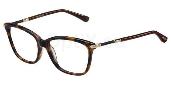 J5J JC133 Glasses, JIMMY CHOO