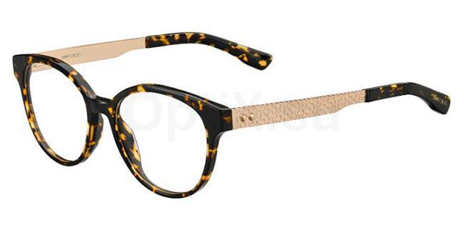 UY8 JC159 Glasses, JIMMY CHOO