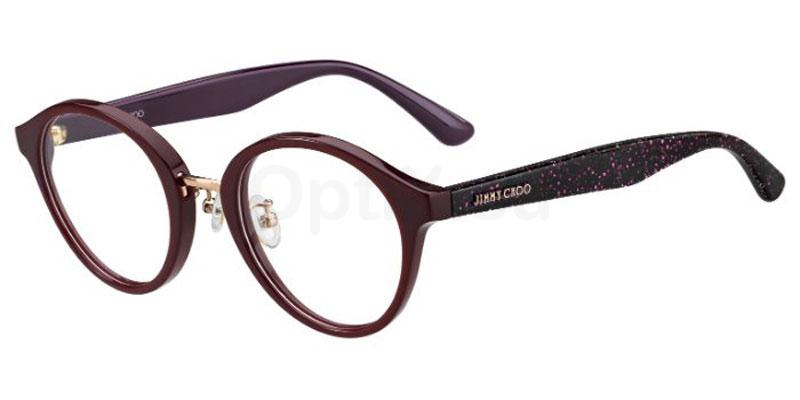 MXW JC197/F Glasses, JIMMY CHOO