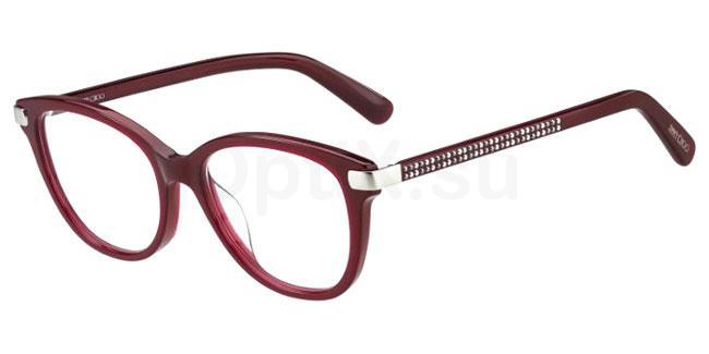 LHF JC196 Glasses, JIMMY CHOO