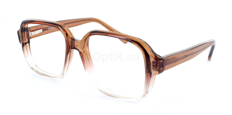 Brown - 2 Tone 100F Glasses, Monsieur