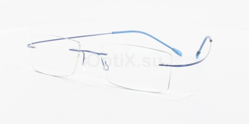 Blue 1102 Glasses, Vista