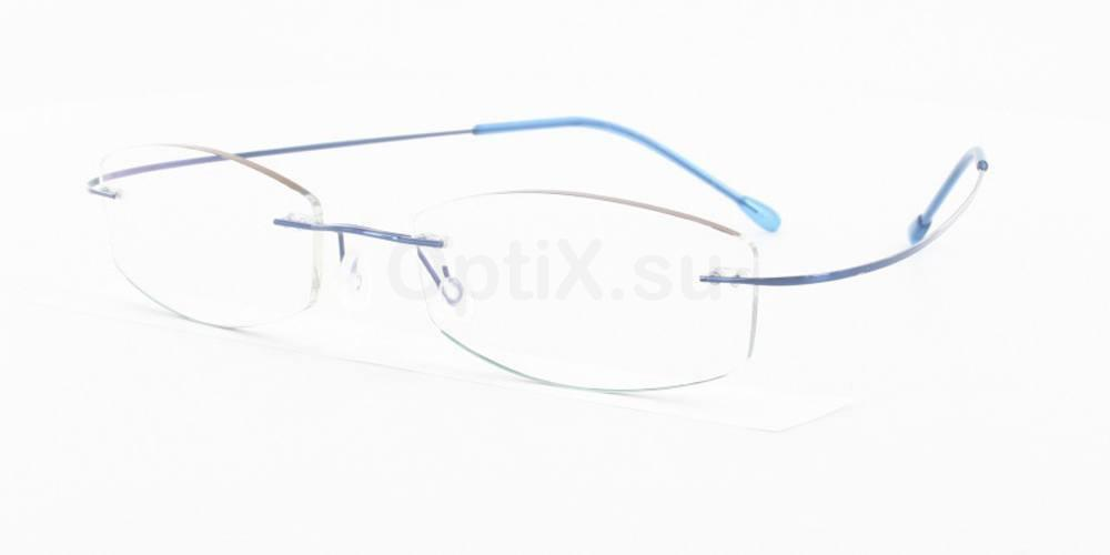 Blue 3829 Glasses, Vista