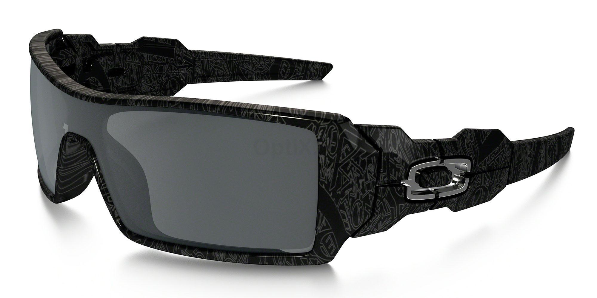 24-058 OO9081 OIL RIG (Standard) Sunglasses, Oakley