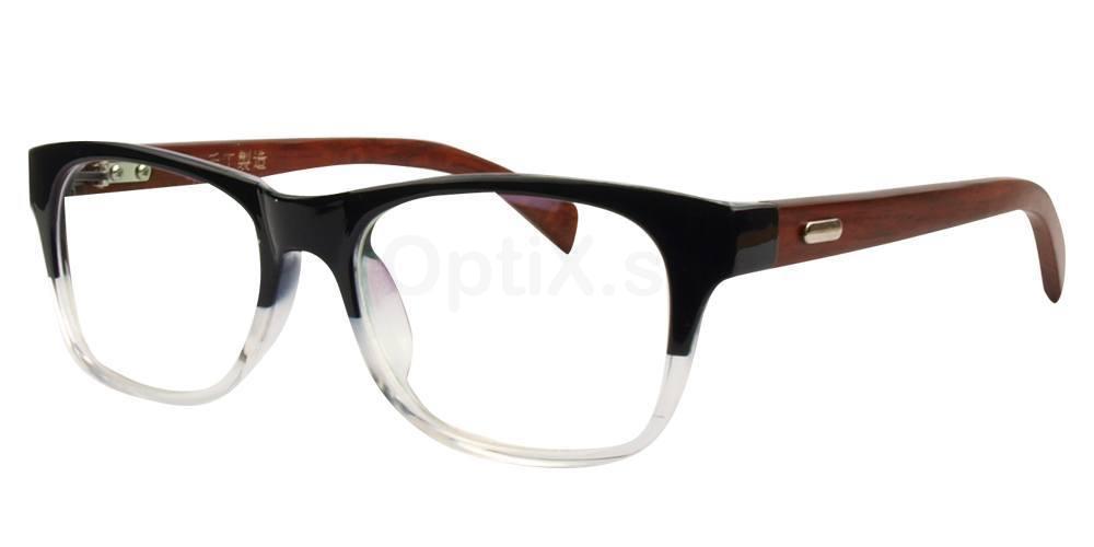 Black / Clear 3029 Glasses, Hallmark