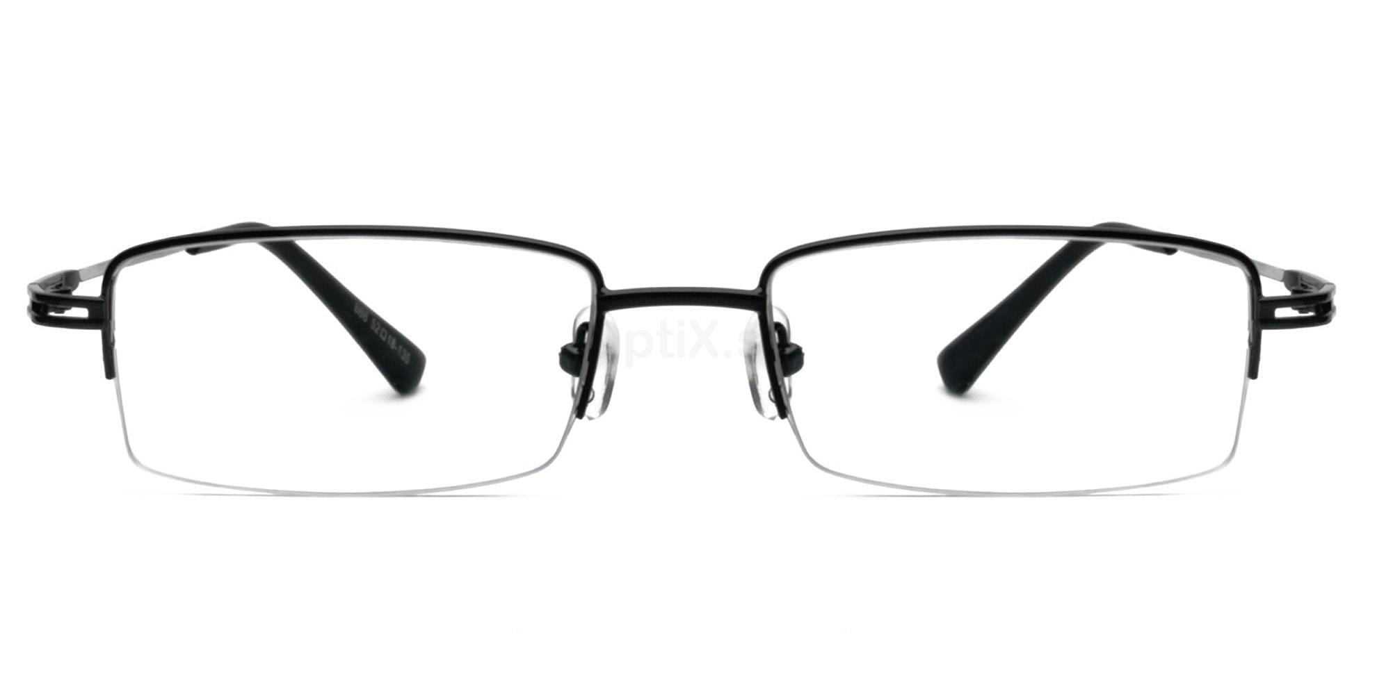 Black 666 Glasses, Infinity