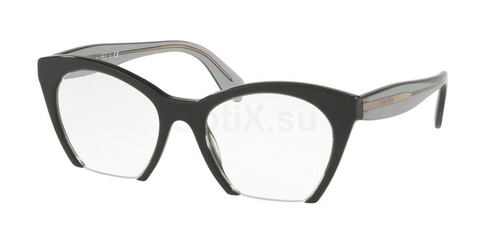 H5X1O1 MU 03QV Glasses, Miu Miu