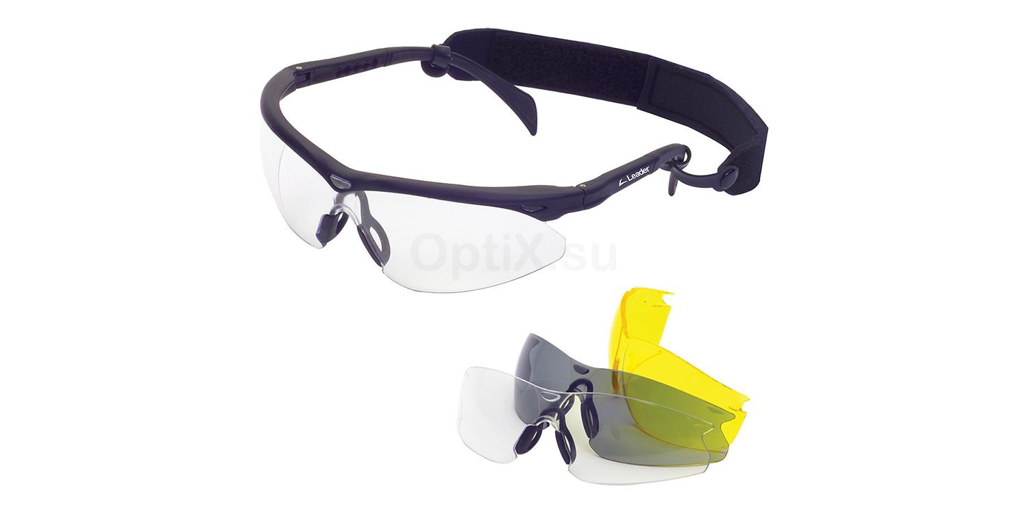 RE1903-CK Ready-to-Wear Plano Sports Goggles Trophy II Try-Pak Accessories, LEADER