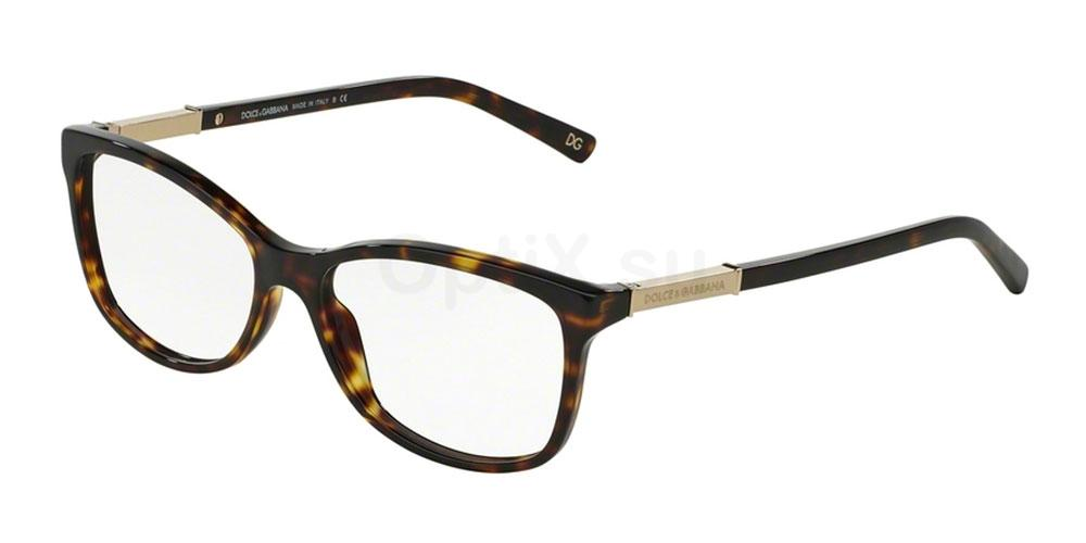 502 DG3107 LOGO PLAQUE Glasses, Dolce & Gabbana