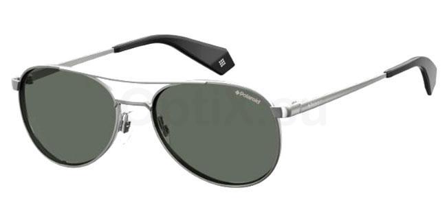6LB (M9) PLD 6070/S/X Sunglasses, Polaroid