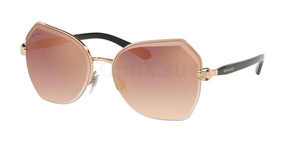 20146F BV6102B Sunglasses, Bvlgari