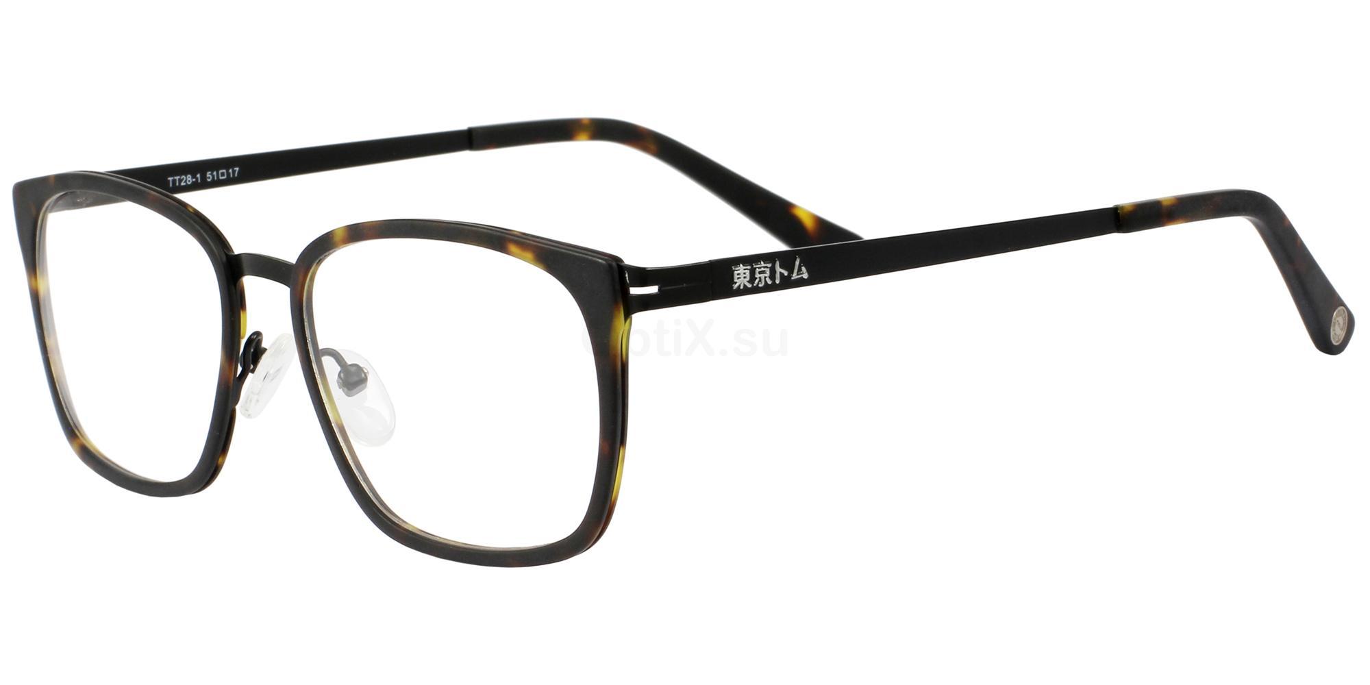 C1 TT28 Glasses, Tokyo Tom