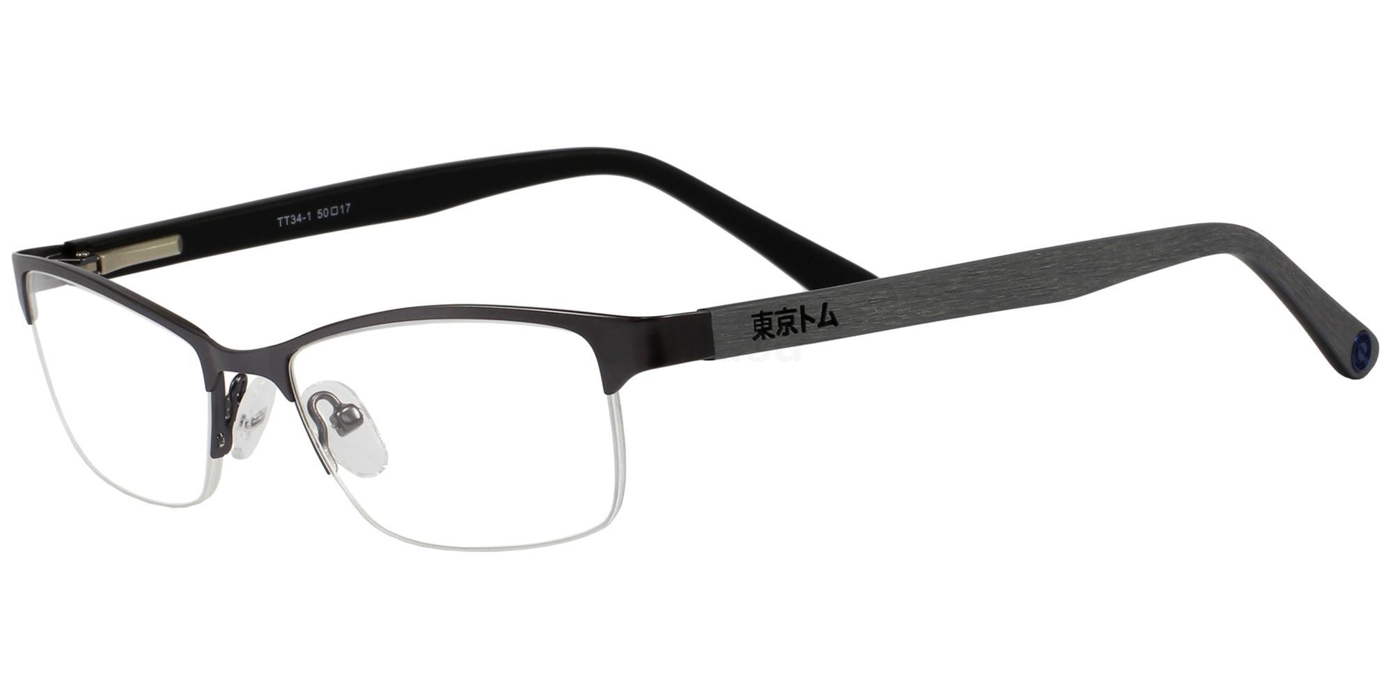 C1 TT34 Glasses, Tokyo Tom
