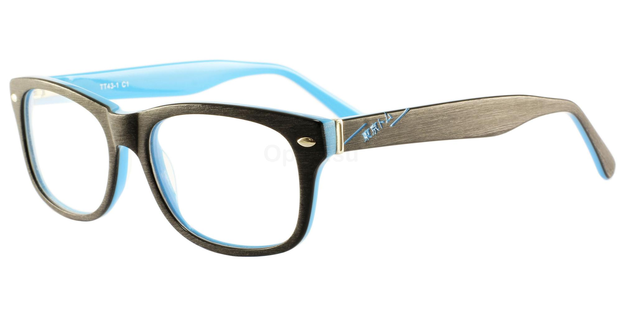 C1 TT43 Glasses, Tokyo Tom