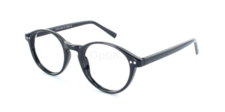 Black 22ND BASE Glasses, Look Designs