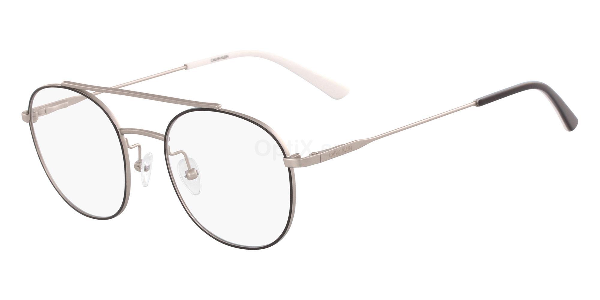 001 CK18123 Glasses, Calvin Klein