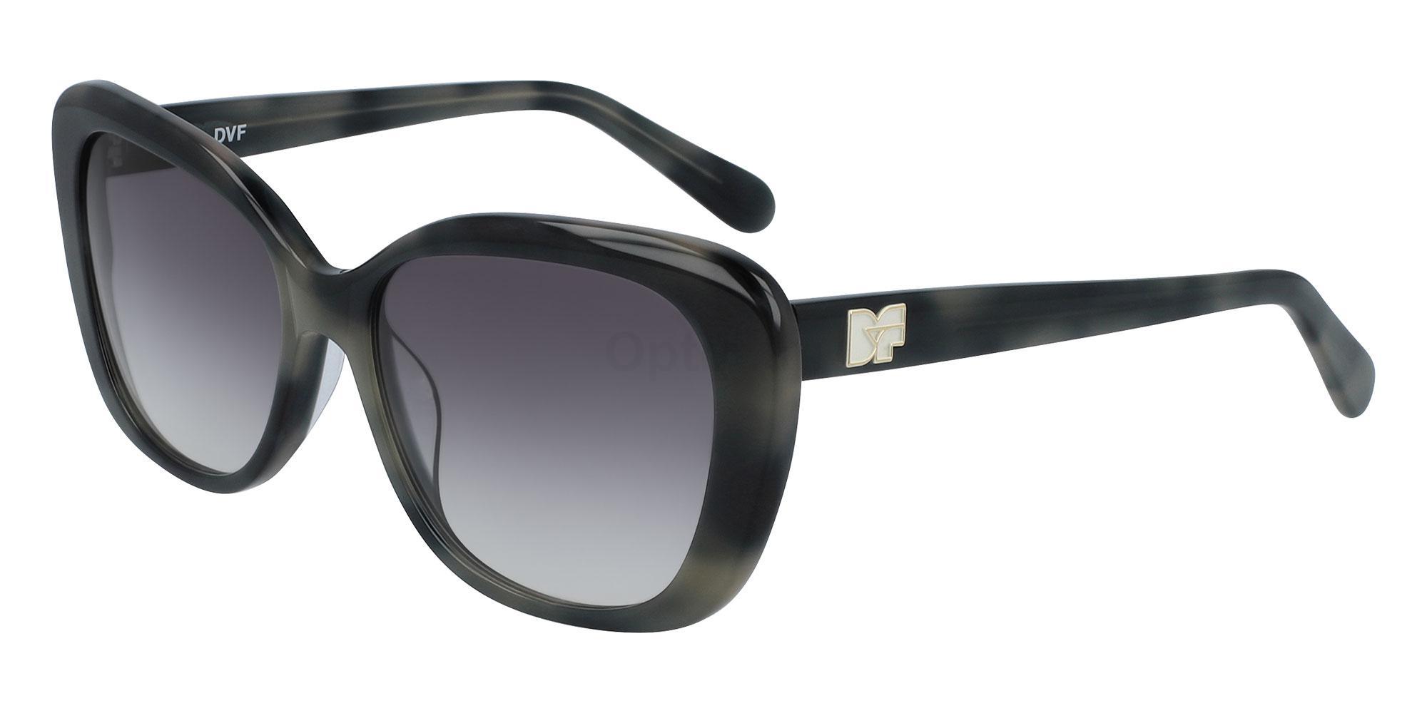 002 DVF664S ANDI Sunglasses, DVF