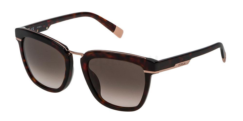 0722 SFU139 Sunglasses, Furla
