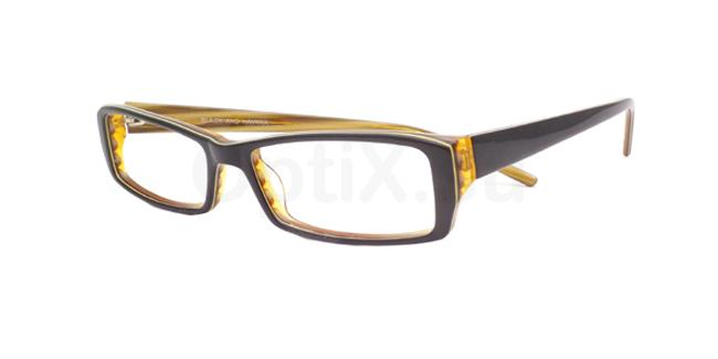 Black and Havana po08 Glasses, Booth & Bruce Design