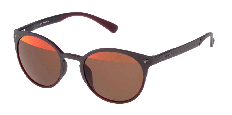 7E8H SPL162V Sunglasses, Police