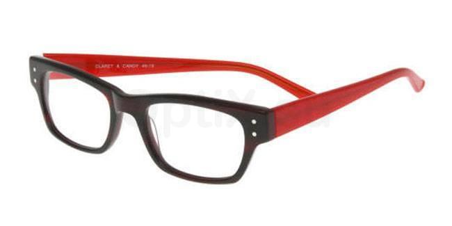 Claret and Candy P042 Glasses, Booth & Bruce Classic
