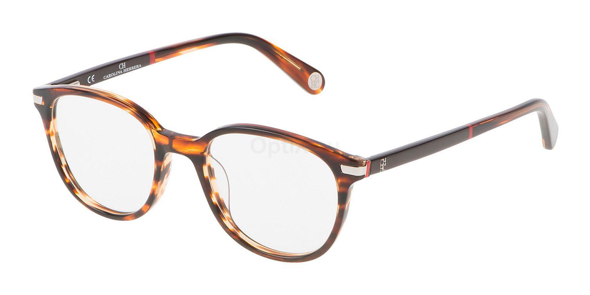 09RS VHE666 Glasses, CH Carolina Herrera