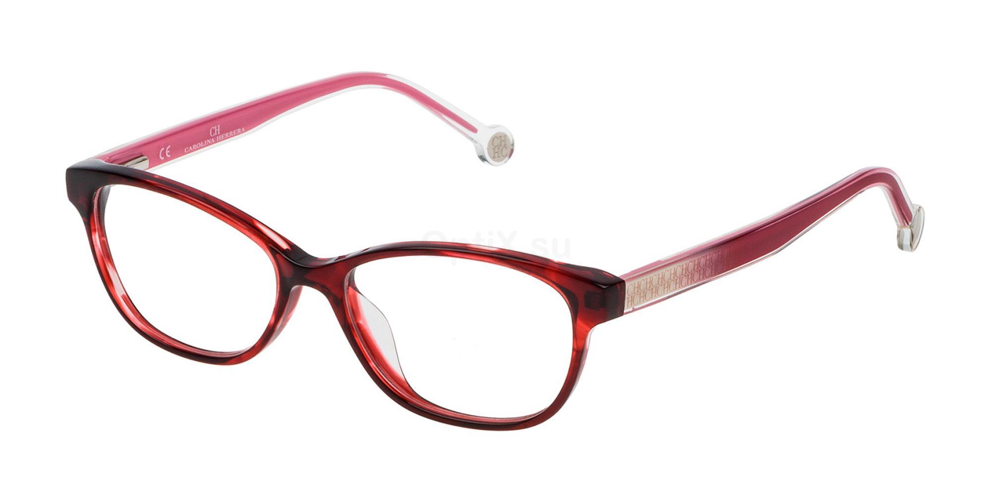 01GJ VHE726L Glasses, CH Carolina Herrera