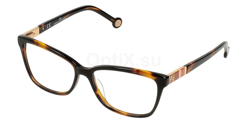 0743 VHE585 Glasses, CH Carolina Herrera