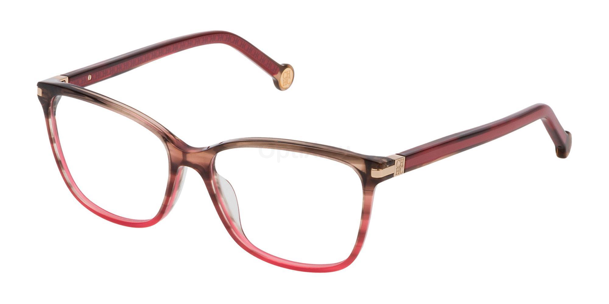 04AB VHE775 Glasses, CH Carolina Herrera