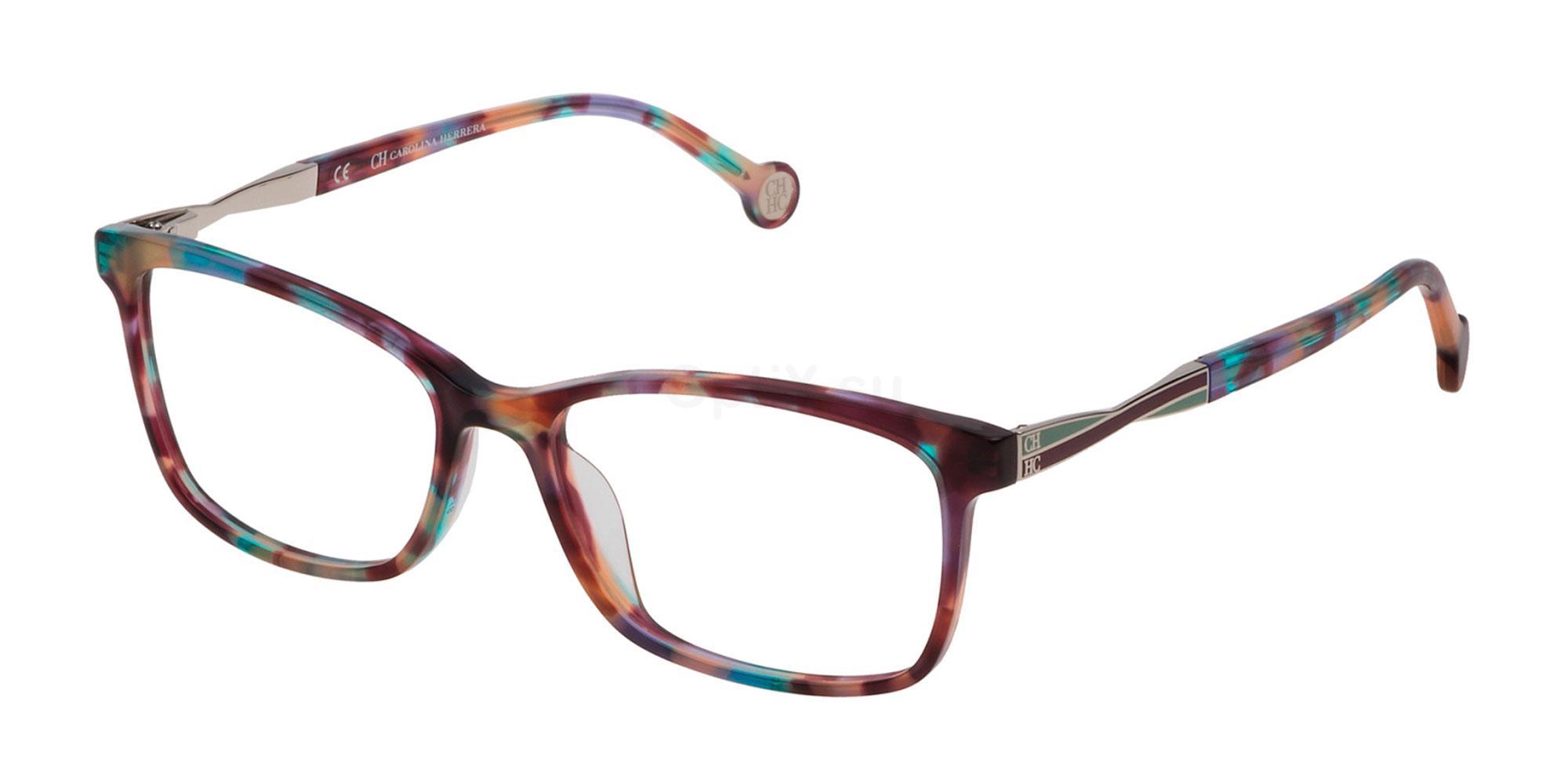 05AH VHE781 Glasses, CH Carolina Herrera