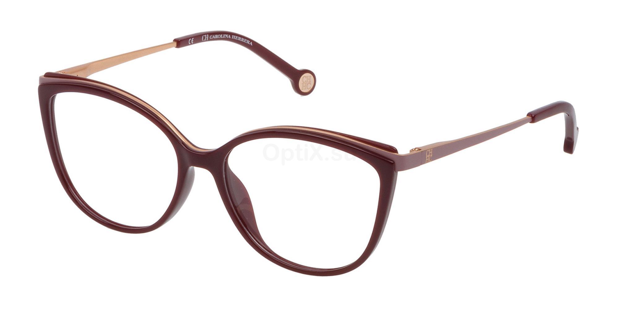 09FD VHE783 Glasses, CH Carolina Herrera
