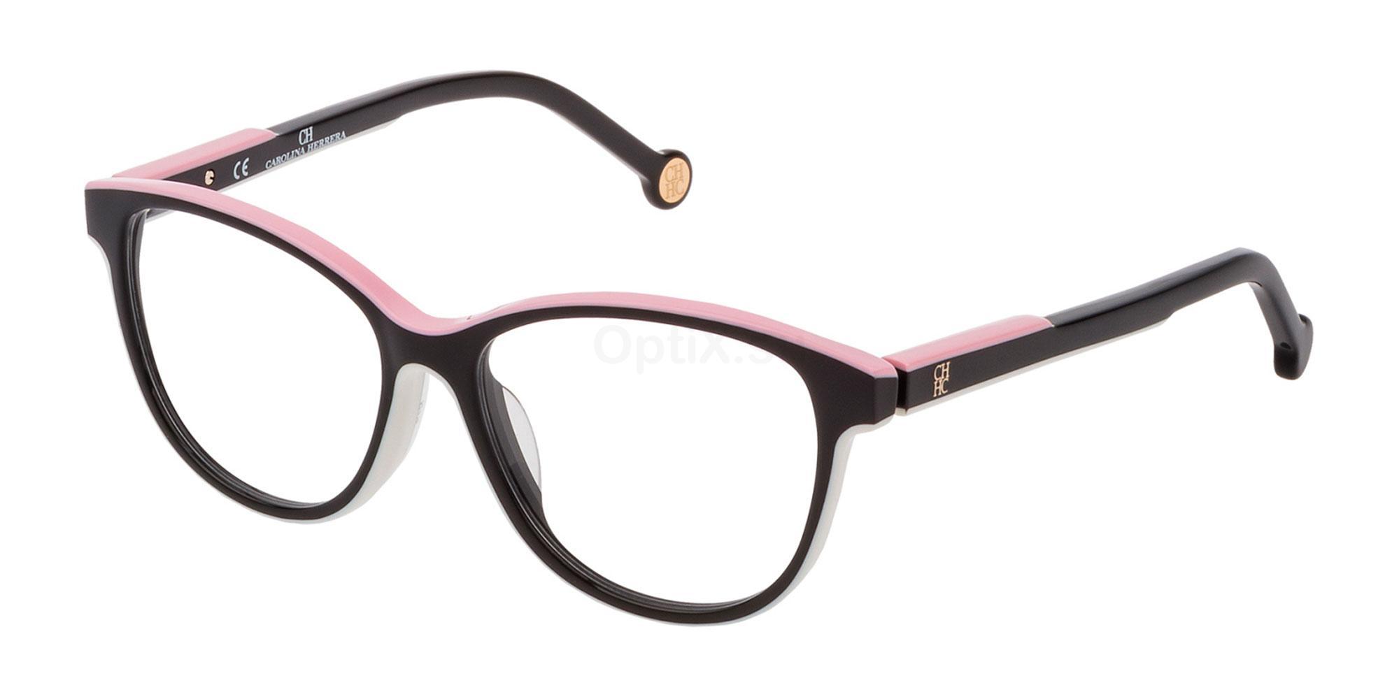 06HC VHE800 Glasses, CH Carolina Herrera