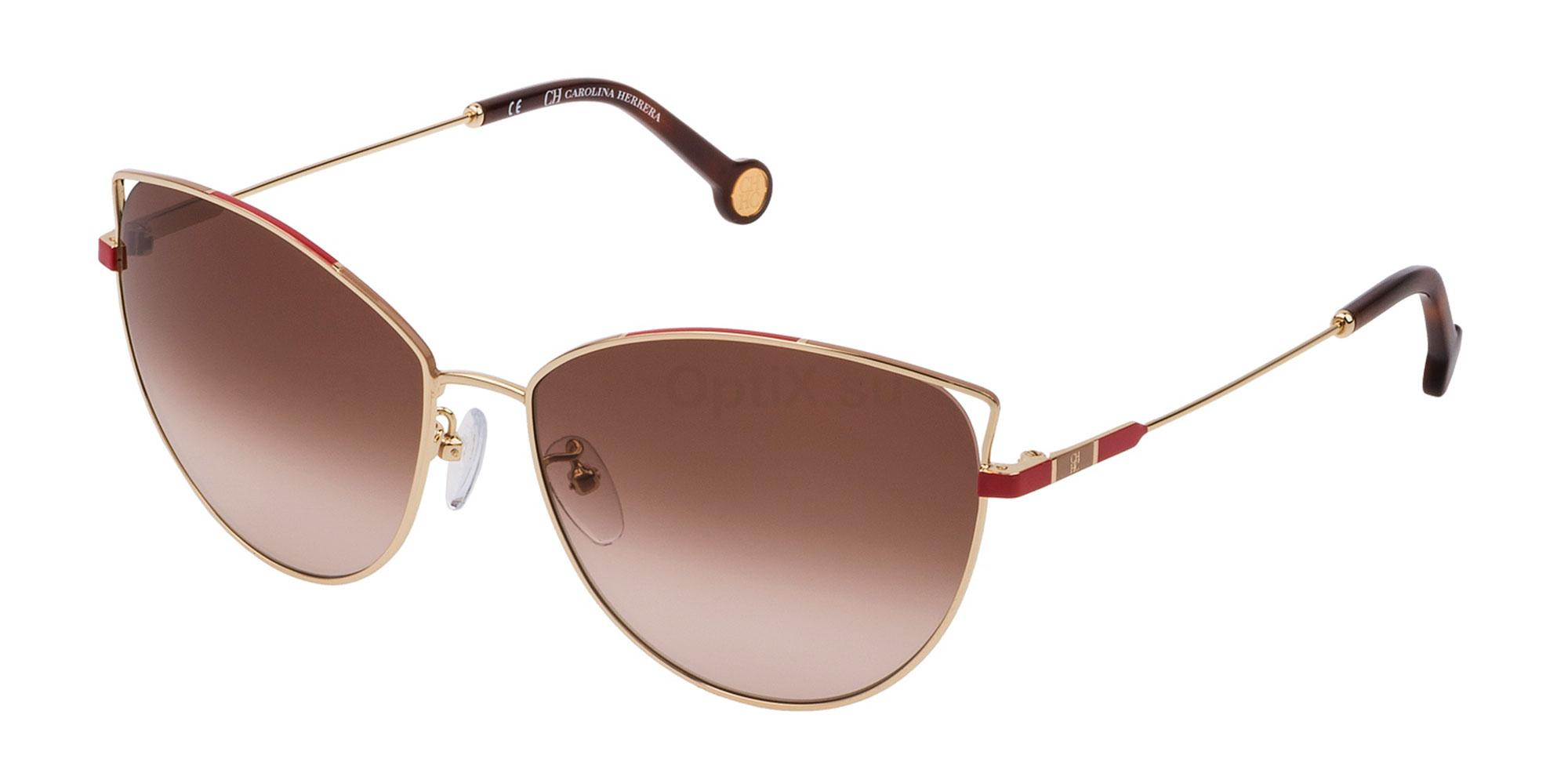 0300 SHE140 Sunglasses, CH Carolina Herrera